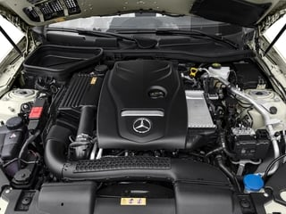 2017 Mercedes-Benz SLC Pictures SLC Roadster 2D SLC300 I4 Turbo photos engine