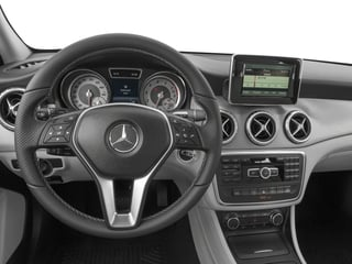 2017 Mercedes-Benz GLA Pictures GLA GLA 250 4MATIC SUV photos driver's dashboard