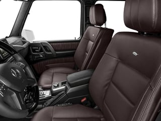 2017 Mercedes-Benz G-Class Pictures G-Class AMG G 63 4MATIC SUV photos front seat interior