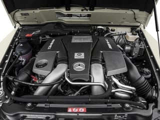 2017 Mercedes-Benz G-Class Pictures G-Class AMG G 63 4MATIC SUV photos engine