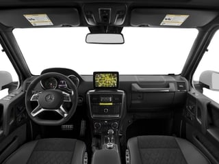 2017 Mercedes-Benz G-Class Pictures G-Class G 550 4x4 Squared SUV photos full dashboard