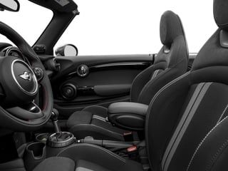2017 MINI Convertible Pictures Convertible Convertible 2D JCW I4 Turbo photos front seat interior
