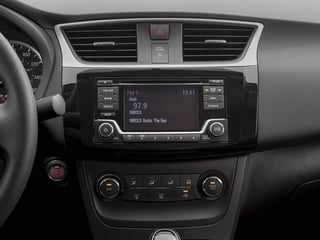 2017 Nissan Sentra Pictures Sentra Sedan 4D S I4 photos stereo system