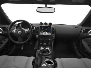 2017 Nissan 370Z Pictures 370Z Coupe 2D Sport Tech V6 photos full dashboard