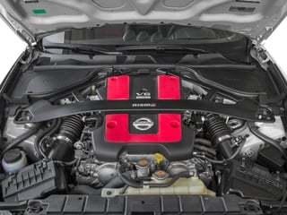2017 Nissan 370Z Pictures 370Z Coupe 2D NISMO Tech V6 photos engine