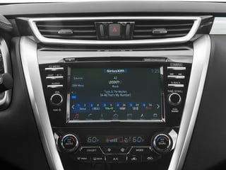 2017 Nissan Murano Pictures Murano Utility 4D SV AWD V6 photos stereo system