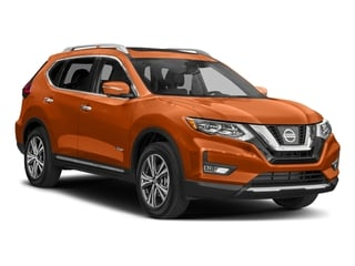 2017 Nissan Rogue Pictures Rogue Utility 4D SL 2WD I4 Hybrid photos side front view