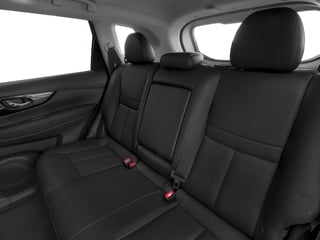 2017 Nissan Rogue Pictures Rogue Utility 4D SL 2WD I4 Hybrid photos backseat interior