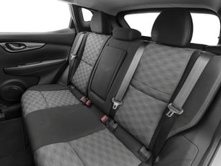 2017 Nissan Rogue Sport Pictures Rogue Sport Utility 4D S 2WD photos backseat interior