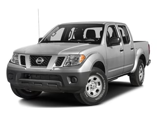 2017 Nissan Frontier Pictures Frontier Crew Cab S 4WD photos side front view