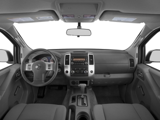 2017 Nissan Frontier Pictures Frontier Crew Cab S 4WD photos full dashboard