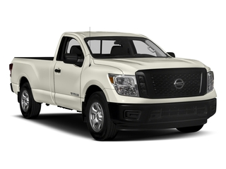 2017 Nissan Titan Pictures Titan Regular Cab S 2WD photos side front view