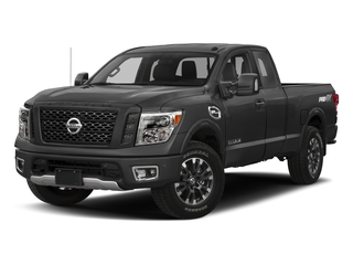 2017 Nissan Titan Pictures Titan King Cab PRO-4X 4WD photos side front view