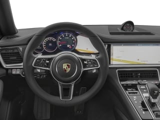 2017 Porsche Panamera Pictures Panamera Hatchback 4D 4 AWD V6 Turbo photos driver's dashboard