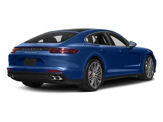 2017 Porsche Panamera Pictures Panamera Turbo Executive AWD photos side rear view