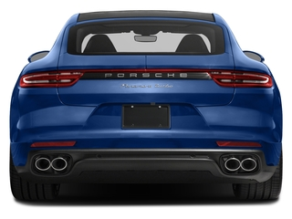 2017 Porsche Panamera Pictures Panamera Turbo Executive AWD photos rear view