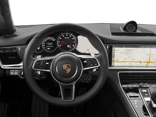 2017 Porsche Panamera Pictures Panamera Turbo Executive AWD photos driver's dashboard