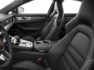 2017 Porsche Panamera Pictures Panamera Turbo Executive AWD photos front seat interior