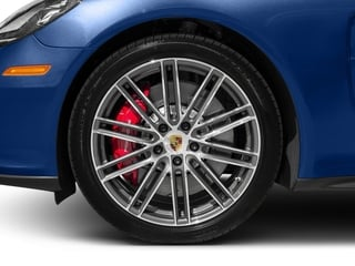 2017 Porsche Panamera Pictures Panamera Turbo Executive AWD photos wheel