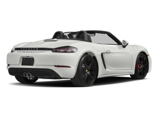 2017 Porsche 718 Boxster Pictures 718 Boxster Roadster 2D S H4 Turbo photos side rear view