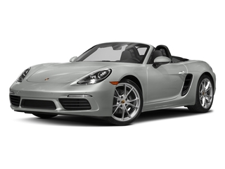 2017 Porsche 718 Boxster Pictures 718 Boxster Roadster 2D H4 Turbo photos side front view