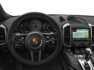 2017 Porsche Cayenne Pictures Cayenne Utility 4D S AWD V6 Turbo photos driver's dashboard