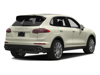 2017 Porsche Cayenne Pictures Cayenne Utility 4D S AWD V8 Turbo photos side rear view