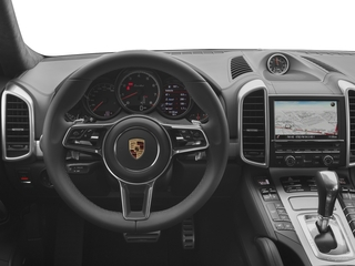 2017 Porsche Cayenne Pictures Cayenne Utility 4D AWD V8 Turbo photos driver's dashboard