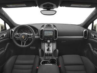 2017 Porsche Cayenne Pictures Cayenne Utility 4D S AWD V8 Turbo photos full dashboard