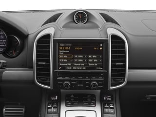 2017 Porsche Cayenne Pictures Cayenne Utility 4D S AWD V8 Turbo photos stereo system