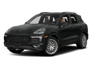 2017 Porsche Cayenne Pictures Cayenne Utility 4D Platinum AWD V6 photos side front view