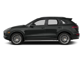 2017 Porsche Cayenne Pictures Cayenne Utility 4D Platinum AWD V6 photos side view