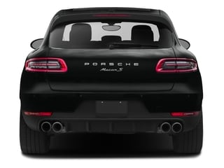 2017 Porsche Macan Pictures Macan Utility 4D Performance AWD V6 Turbo photos rear view
