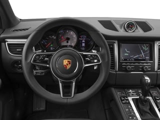 2017 Porsche Macan Pictures Macan Utility 4D Performance AWD V6 Turbo photos driver's dashboard