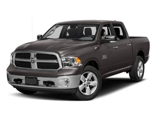 2017 Ram Truck 1500 Pictures 1500 Lone Star Silver 4x2 Crew Cab 5'7 Box photos side front view