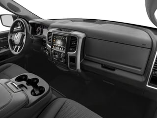 2017 Ram Truck 1500 Pictures 1500 Lone Star Silver 4x2 Crew Cab 5'7 Box photos passenger's dashboard