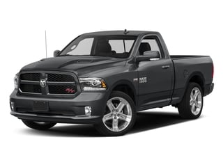 2017 Ram Truck 1500 Pictures 1500 Night 4x4 Regular Cab 6'4 Box photos side front view