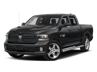 2017 Ram Truck 1500 Pictures 1500 Night 4x2 Crew Cab 5'7 Box photos side front view