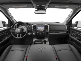 2017 Ram Truck 1500 Pictures 1500 Night 4x2 Crew Cab 5'7 Box photos full dashboard