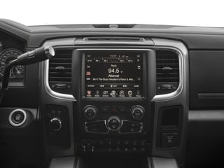 2017 Ram Truck 2500 Pictures 2500 Limited 4x4 Crew Cab 8' Box photos stereo system