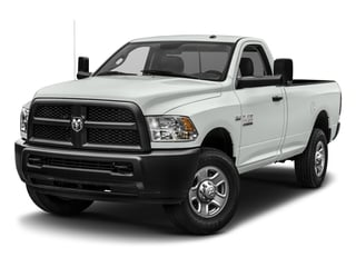 2017 Ram Truck 3500 Pictures 3500 SLT 4x4 Reg Cab 8' Box photos side front view