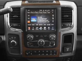 2017 Ram Truck 3500 Pictures 3500 Crew Cab Laramie 4WD photos stereo system