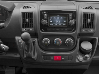 2017 Ram Truck ProMaster Cargo Van Pictures ProMaster Cargo Van 1500 High Roof 136 WB photos stereo system