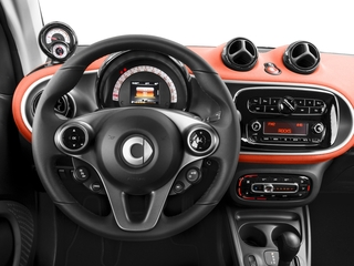 2017 smart fortwo Pictures fortwo Coupe 2D Pure I3 Turbo photos driver's dashboard