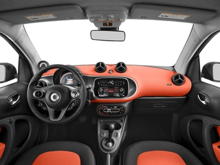 2017 smart fortwo Pictures fortwo Coupe 2D Pure I3 Turbo photos full dashboard
