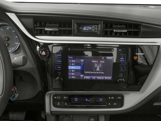 2017 Toyota Corolla Pictures Corolla Sedan 4D L I4 photos stereo system