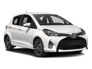 2017 Toyota Yaris Pictures Yaris Hatchback 5D SE I4 photos side front view