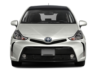2017 Toyota Prius v Pictures Prius v Liftback 5D v Five I4 Hybrid photos front view