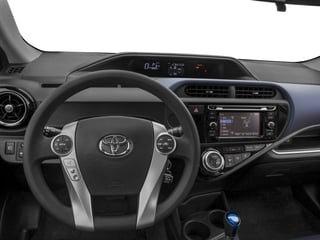 2017 Toyota Prius c Pictures Prius c Liftback 5D c Four I4 Hybrid photos driver's dashboard