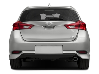 2017 Toyota Corolla iM Pictures Corolla iM Hatchback 5D photos rear view